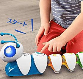 イモムシ型ロボット プログラミング教育