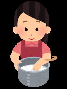 【クイズ】お米は水じゃなくてお湯で研いでもいい?ダメ?