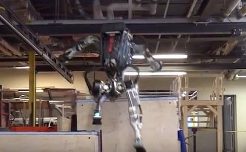ロボット ジャンプ